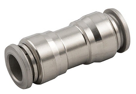 Push-in connector, Stainless steel