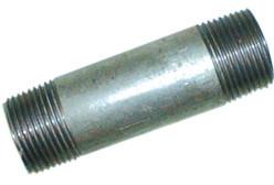 Stahlrohr Rohrnippel, verzinkt mit Aussengewinde