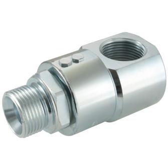 Hydraulic-Swivel Joint 90°, BSP thread
